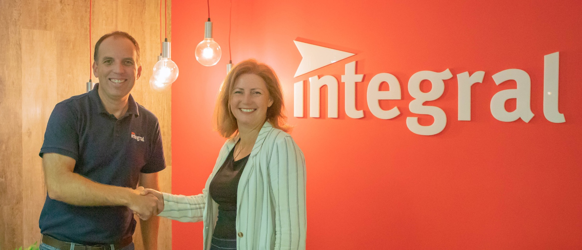 Integral acquires OTM. Cameron Tuesley and Amy Ward